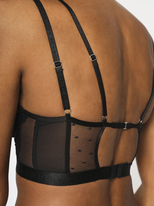 Knickerbox Planet - The Free Spirit Longline Non Padded Bra image number 5.0