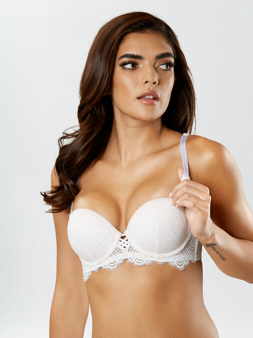 The Multiway Push Up Balcony Bra image number 2.0