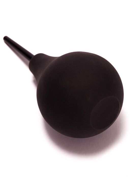 Black Silicone Anal Douche image number 1.0