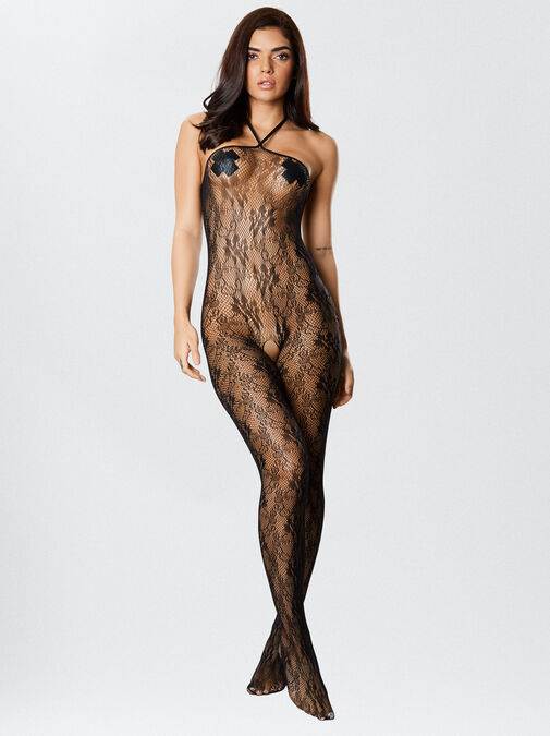 The Hottie Crotchless Bodystocking image number 3.0