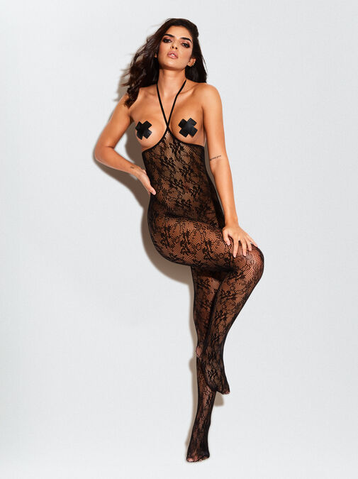 The Hottie Crotchless Bodystocking image number 0.0