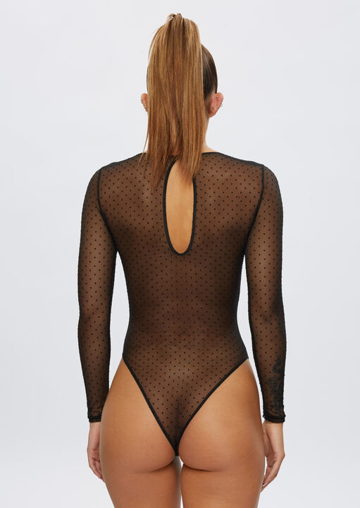 The Lucky Night Long Sleeve Crotchless Body image number 3.0