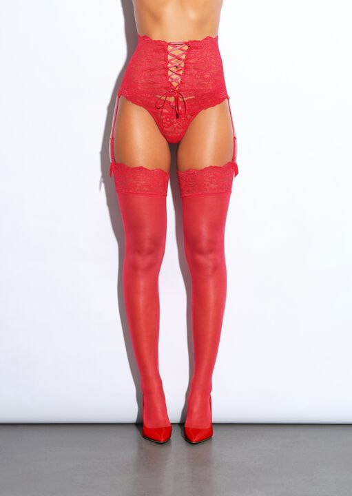 The Irresistible Waspie and Stockings Set image number 0.0