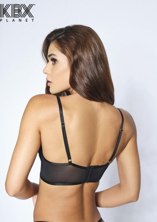 Knickerbox Planet - The Smooth Talker Non Padded Bra image number 4.0