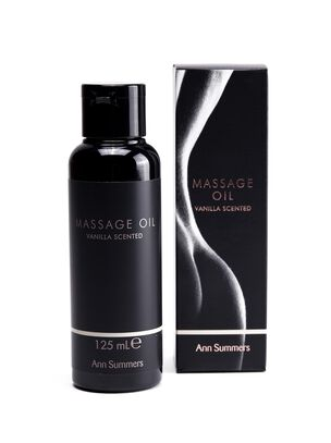 Vanilla Scented Massage Oil