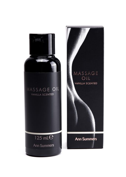 Vanilla Scented Massage Oil image number 0.0