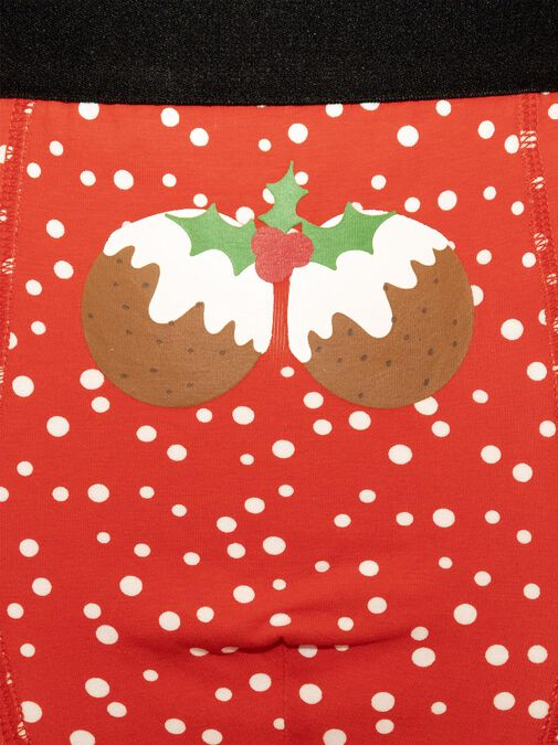 Christmas Pudding Boxers image number 2.0