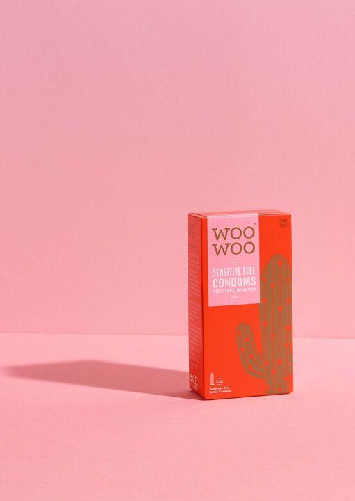 Woo Woo Thin Feel Sensitive Condoms 12 Pack image number 4.0