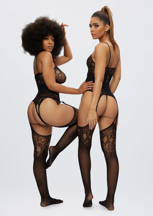 The Flaunted Crotchless Bodystocking image number 4.0