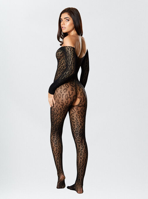 The Wild One Crotchless Bodystocking image number 4.0