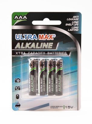 Ultra Max AAA 4 Pack