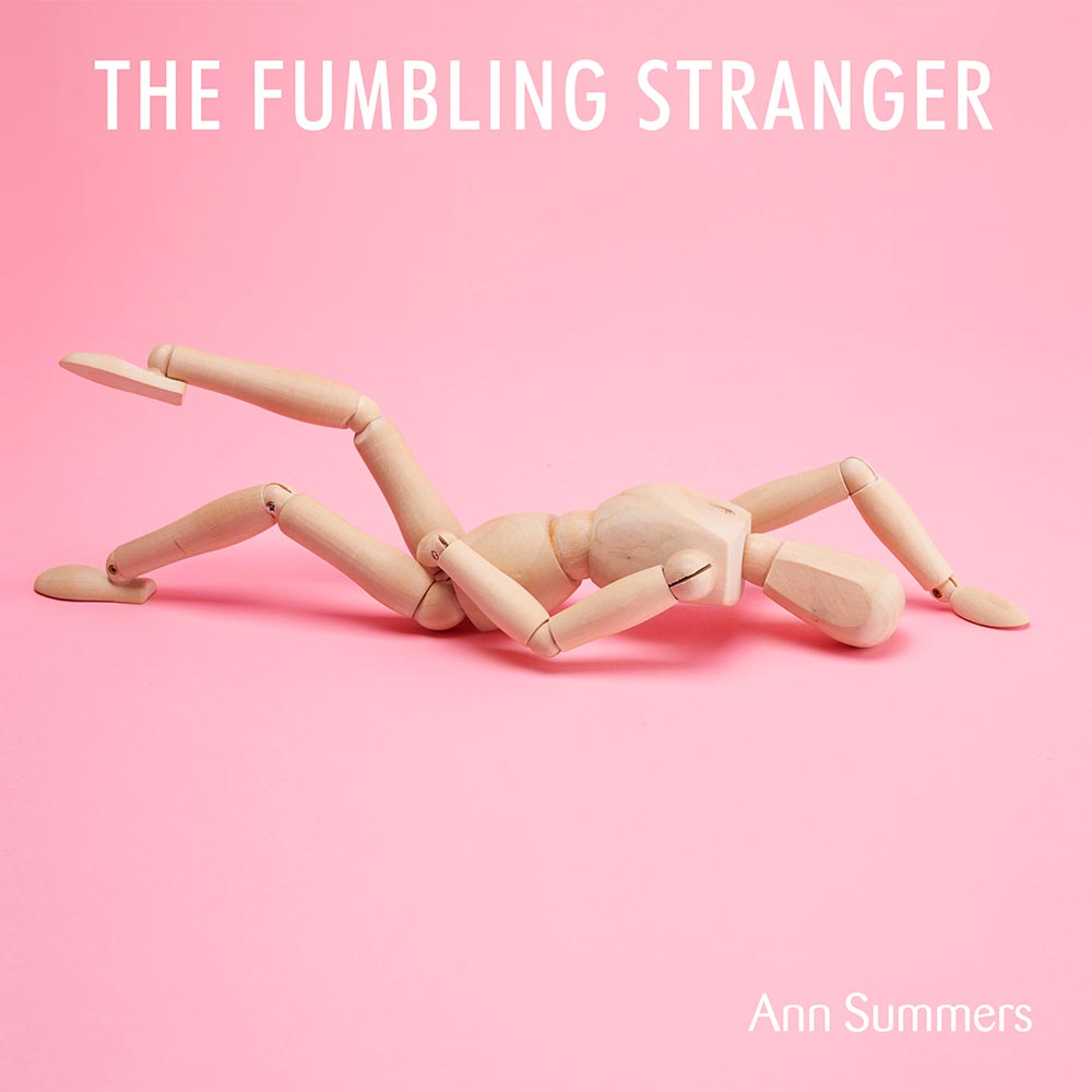 Wooden doll in the position Fumbling Stranger