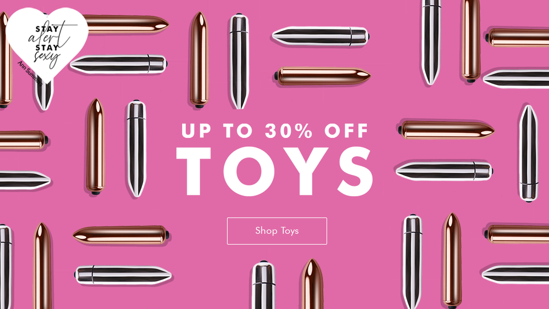 Sex Toys 30% off