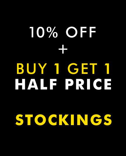 10% off plus Buy 1 Get 1 Half Price on Stockings