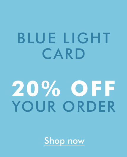 20% Discount for Blue Light Card