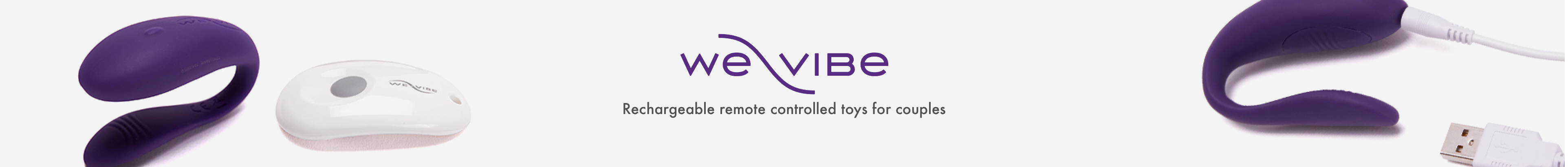 We Vibe - Rechargeable remote control toys for couples