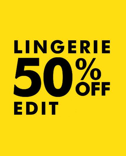 50% off Black Friday Lingerie Picks